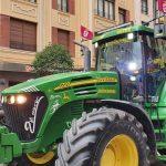 tractores manifestación leonesista