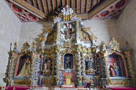 retablo iglesia sardón de los frailes