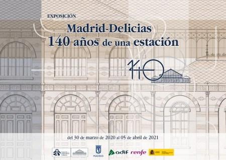 140 años estación de Delicias