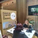 Palacio de Congresos Salamancase promociona como sede de eventos en el Venues Conect Forum