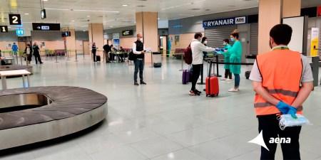medidas seguridad aeropuerto covid 19