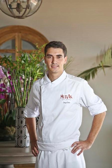 Restaurante Melvin Chef Diego Dato