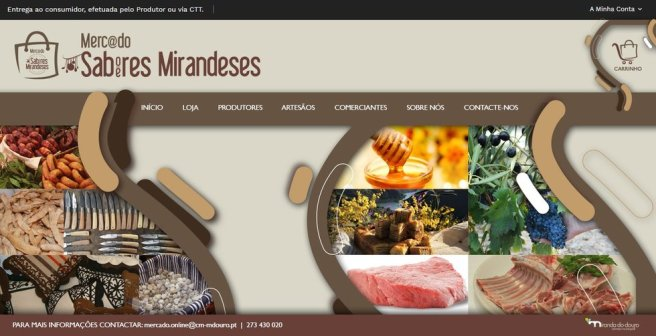 Mercado de Sabores e Saberes Mirandeses
