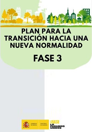 nueva normalidad fase 3