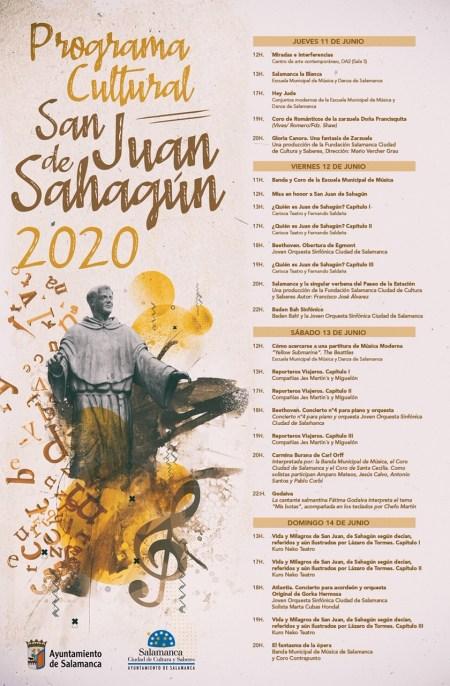 fiestas de san juan de sahagún salamanca 2020