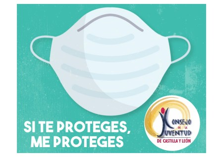 mascarillas SI TE PROTEGES, ME PROTEGES