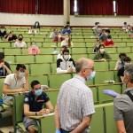 primera jornada de las pruebas de la EBAU en León y Ponferrada