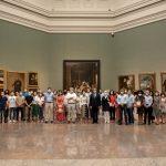 """Un grupo de funcionarios internacionales de la OMT visitan """"Reencuentro"""" en el Museo del Prado"""