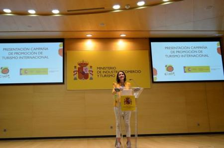 Reyes Maroto presenta la campaña de promoción internaciona