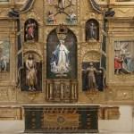 retablo mayor de la Iglesia de Santa María del Río