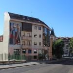 mural en homenaje a la artista Delhy Tejero