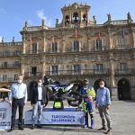 El piloto salmantino Lorenzo Santolino exhibirá la marca 'Salamanca'