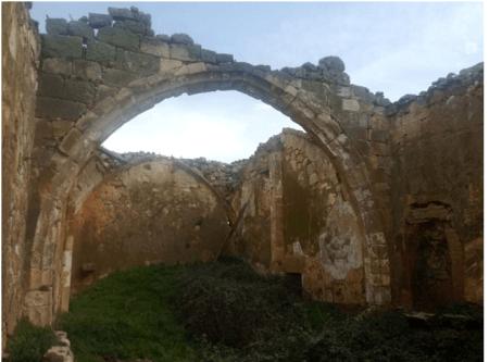iglesia tirados de la vega campanario