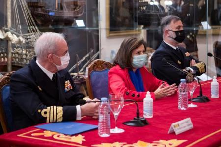 La ministra de Defensa inaugura la reapertura del Museo Naval de Madrid