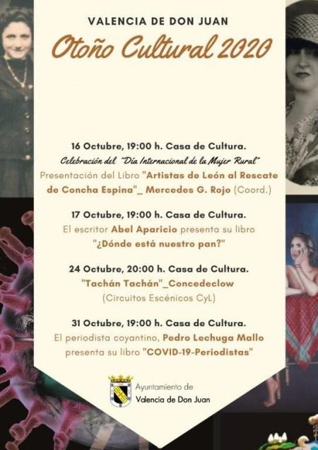 Cartel Octubre Cultural 2020
