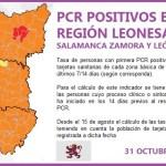PLANTILLA PCR REGIÓN LEONESA SALAMANCA, ZAMORA Y LEÓN A 31DE OCTUBRE DE 2020 2