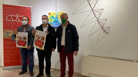 exposición de las obras del Taller de Artes Plásticas y Visuales de la Fundación Aviva