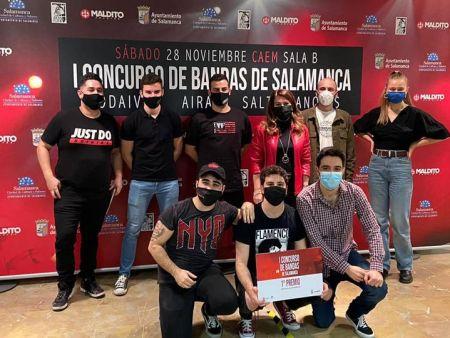 Los salmatinos 'Saltinvanquis', ganadores del I Concurso de Bandas