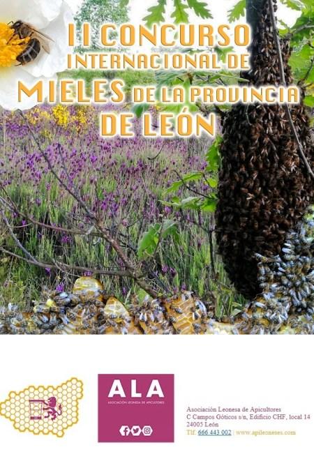 Cartel II Concurso Mieles León