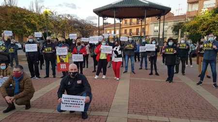 Santa María del Páramo apoya la manifestación de los hosteleros
