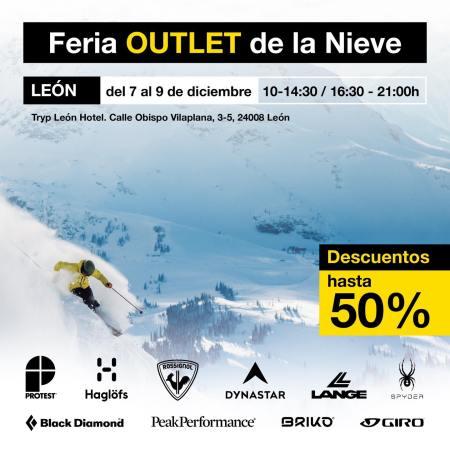 Feria Outlet de la Nieve de León