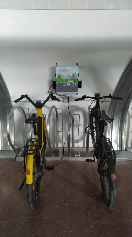 aparcamiento seguro para bicicletas en la estación de Madrid Chamartín Clara Campoamor