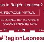 manifestación leonesista virtual @enredando.info