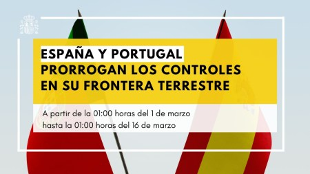 cierre frontera con portugal