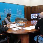 Reunión entre ADIF y el Ayuntamiento de Ponferrada