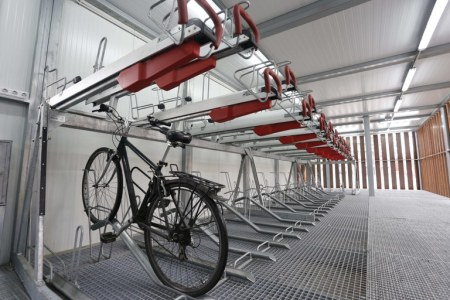 bici estación pública de Sevilla