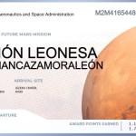 tarjeta embarque region leonesa