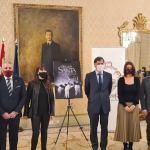 presentación del cartel oficial de la Semana Santa de Salamanca de 2021