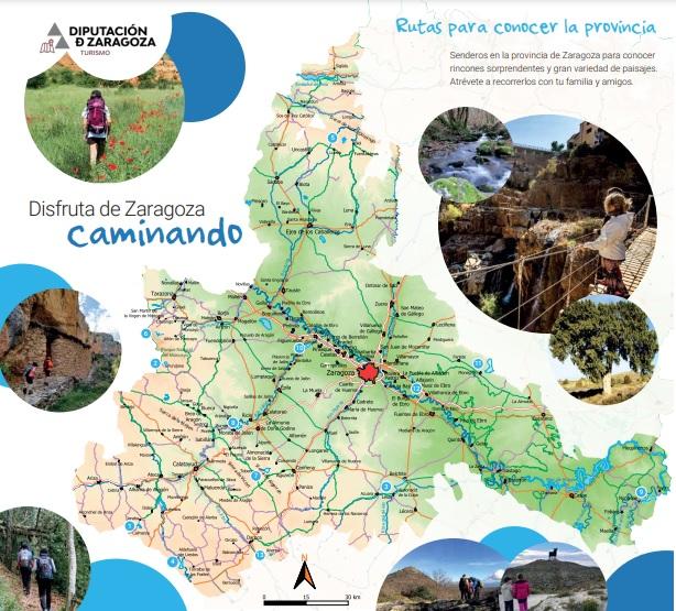 13 rutas de senderistas de Zaragoza
