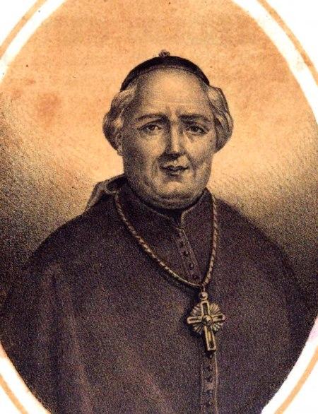 litografía del obispo acuña