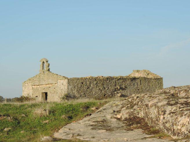 La ermita del Humilladero, en Villamor de Cadozos (Zamora)