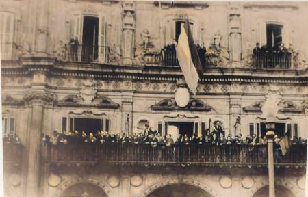proclamación II república en Salamanca