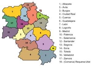 Provincias castellanas