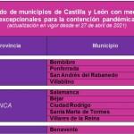 listado municipios de la región leonesa restricciones covid 19