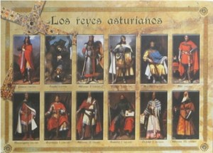 cuadros reyes asturianos