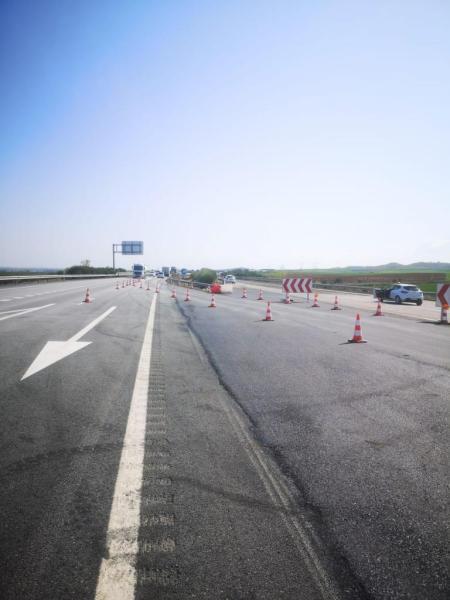 rehabilitación del firme de la autovía A-66 entre León y Benavente