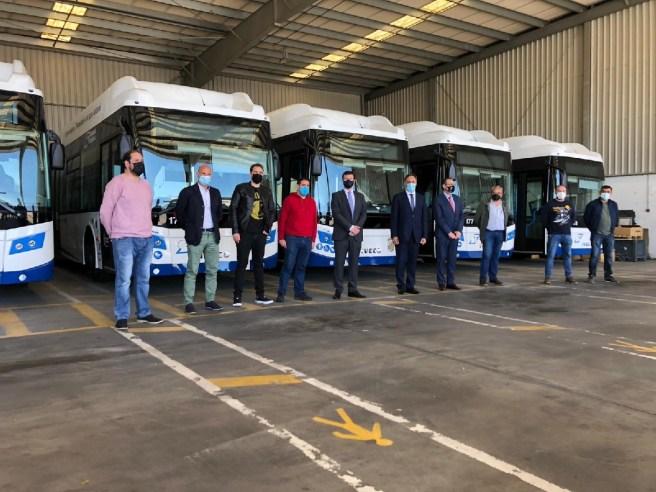 cinco nuevos autobuses Salamanca