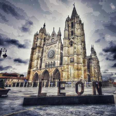 Plaza de la catedral León