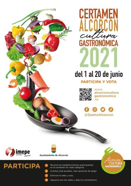 Certamen Gastronómico de comida saludable ALCORCÓN 2021