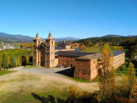 Monasterio de San Andrés de Vega de Espinareda