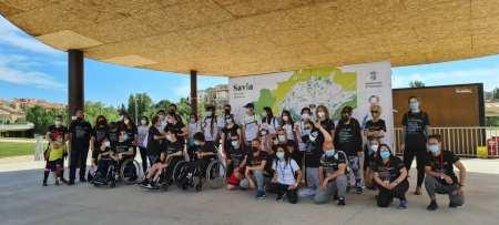 Participantes en las marchas Savia Salamanca