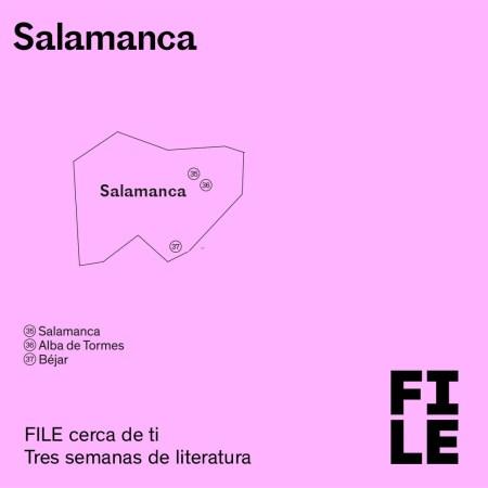 FILE  Festival Internacional de Literatura en Español SAlamanca