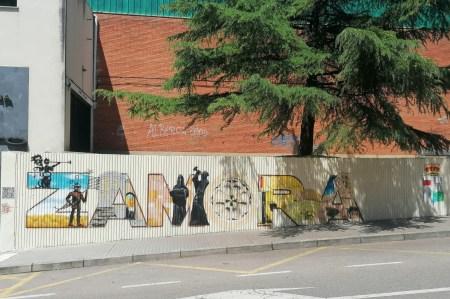 l Ayuntamiento de Zamora finaliza el mural de la calle Amargura