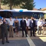 Presentación puesta en marcha Bono rural de transporte gratuito Vidriales