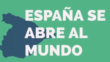 España se abre al mundo