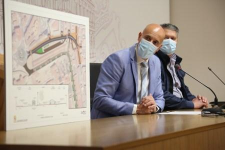 El alcalde de León presenta el proyecto urbanístico de la Ronda Interior